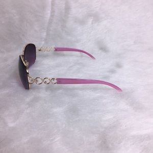 Steve Madden Pink Gold Sunglasses